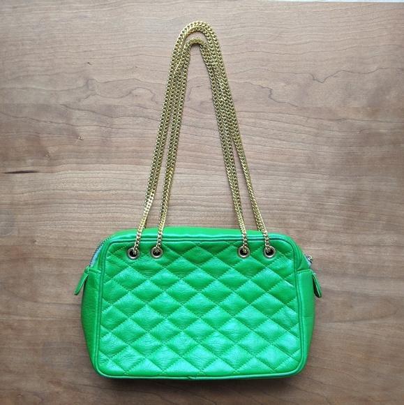 Vintage Morris Moskowitz Leather Bag edc40e8f86637